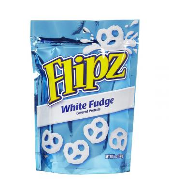 Demets Pretzel Flipz White Fudge 5oz (141g) Pretzel Snacks DeMet's