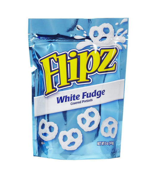 DeMet's Pretzel Flipz White Fudge 5oz (141g) Pretzel Snacks DeMet's