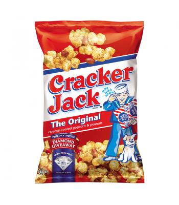 Frito Lay Cracker Jack Original Caramel Coated Popcorn & Peanuts 2.875oz (81.5g) Popcorn Frito Lay