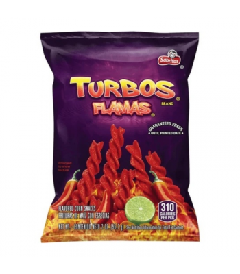 Frito Lays Turbo Flamas Corn Snacks - 2oz (56.7g)  Snacks and Chips Frito-Lay
