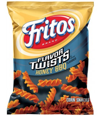 Clearance Special - Fritos Honey BBQ Twists 10oz (283g) **Best Before: 30 November 17** Clearance Zone