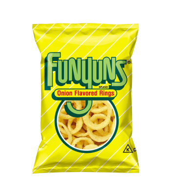Frito Lay Funyuns Onion Rings 0.75oz (21.2g) Snacks and Chips Frito-Lay