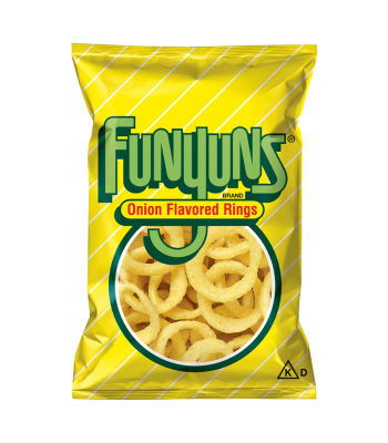Funyuns Onion Rings - HUGE Bag 5.75oz (163g) Crisps & Chips Funyuns
