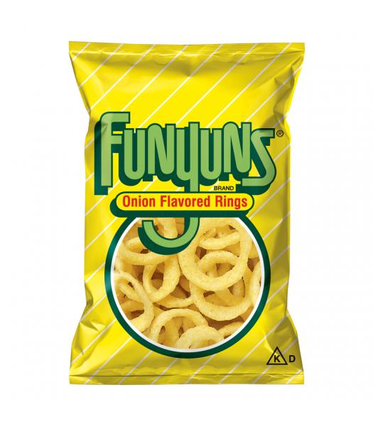 Funyuns Onion Rings - HUGE Bag 5.75oz (163g) Snacks and Chips Frito-Lay
