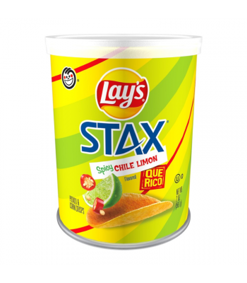 Lay's Stax Spicy Chili Limon - 2oz (56.7g) Snacks and Chips Frito-Lay