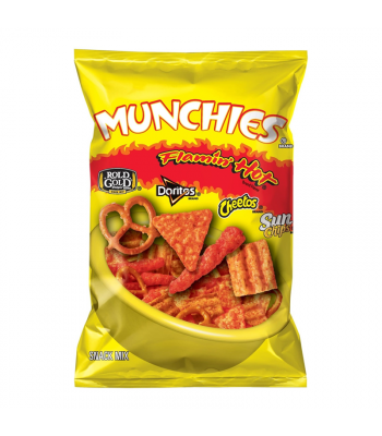 Munchies Flamin' Hot Snack Mix - 9.25oz (261g) Snacks and Chips Frito-Lay