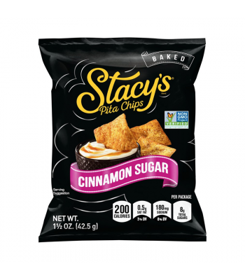 Stacy's Baked Pita Chips Cinnamon Sugar - 1.5oz (42.5g) Snacks and Chips Frito-Lay