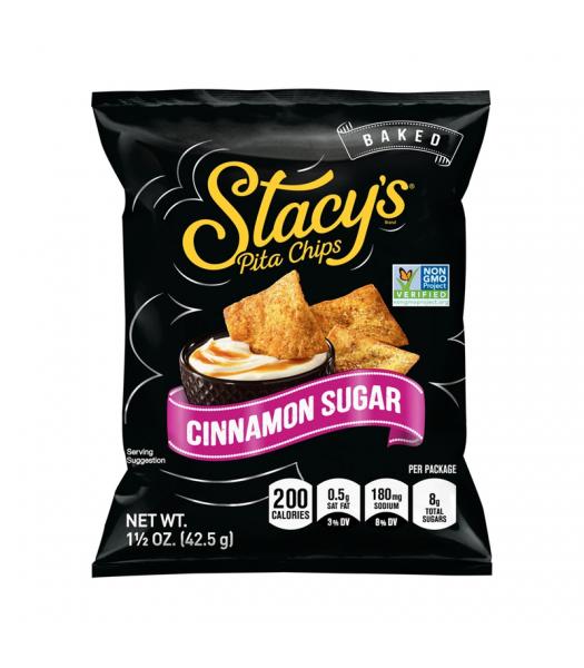 Stacy's Baked Pita Chips Cinnamon Sugar - 1.5oz (42.5g) Snacks and Chips Frito-Lay