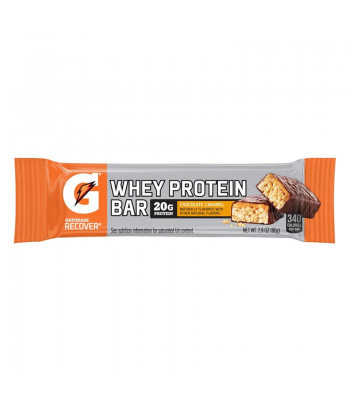 Gatorade Whey Protein Bar - Chocolate Caramel - 2.8oz (80g) Sweets and Candy Gatorade