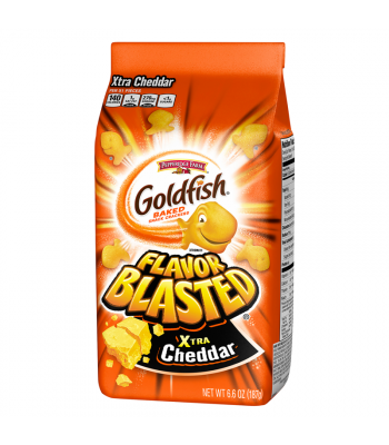 Goldfish Crackers - Flavor Blasted Xtra Cheddar 6.6oz (187g) Snacks and Chips Pepperidge Farm