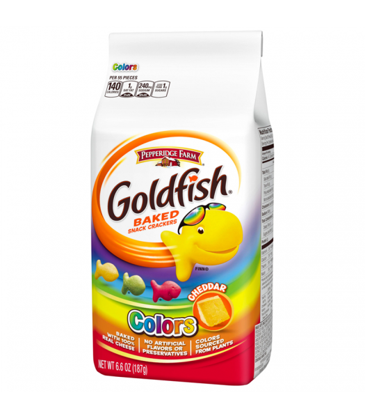 Goldfish Crackers - Colors - 6.6oz (187g) Snacks and Chips Pepperidge Farm