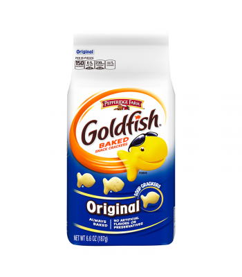Pepperidge Farm Goldfish Crackers Original 6.6oz (187g) Snacks and Chips Pepperidge Farm