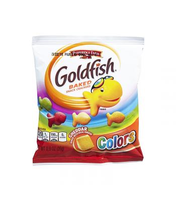 Pepperidge Farm Goldfish Crackers - Colors - 0.9oz (26g) Snacks and Chips Pepperidge Farm