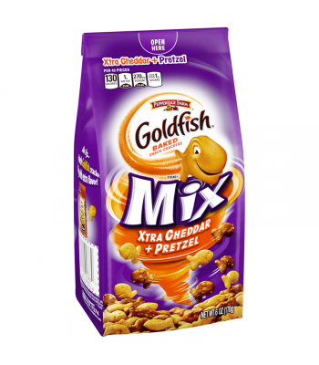 Clearance Special - Pepperidge Farm Goldfish Mix Xtra Cheddar + Pretzel 6oz (170g) ** Best Before: 18 March 2018 ** Clearance Zone