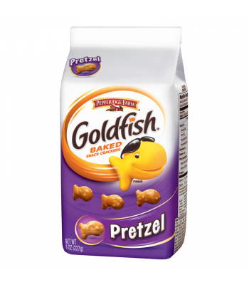 Clearance Special - Pepperidge Farm Goldfish Crackers Pretzel 6.6oz ** Best By: 26 March 2017 ** Clearance Zone