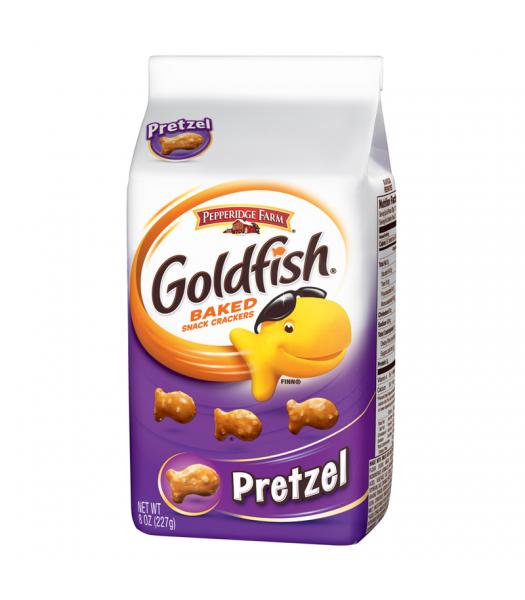 Pepperidge Farm Goldfish Crackers Pretzel Flavour 8oz (227g) Crackers Pepperidge Farm