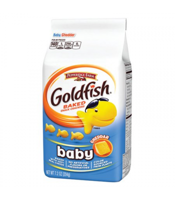 Baby Goldfish Crackers - Cheddar - 7.2oz (204g) Snacks and Chips Pepperidge Farm