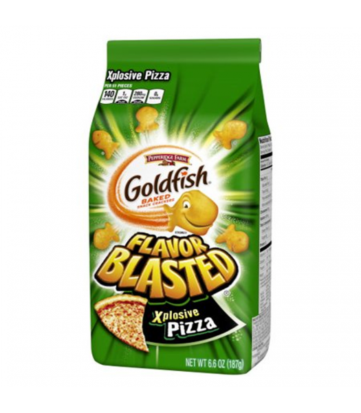 Goldfish Crackers - Flavor Blasted Explosive Pizza - 6.6oz (187g)  Snacks and Chips Pepperidge Farm