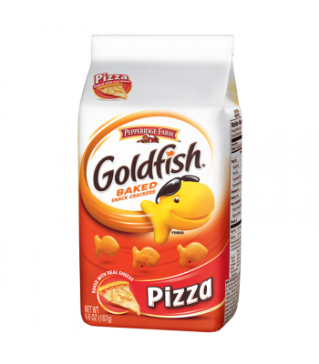 Clearance Special - Pepperidge Farm Goldfish Crackers Pizza Flavour 6.6oz (187g) **Best Before: 29/04/18** Clearance Zone