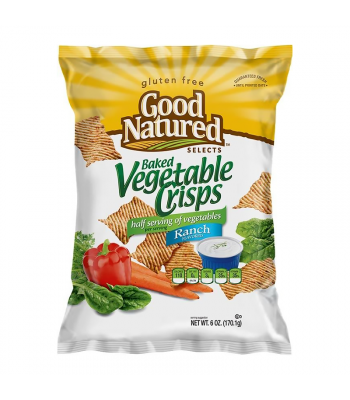 Herr's Good Natured Ranch Flavoured Veggie Crisp Thins - 6oz (170.1g) Food and Groceries Herr's