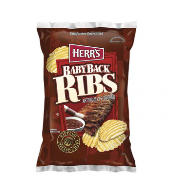 Clearance Special - Herr's Baby Back Ribs Potato Chips 6.5oz (184.3g) **Best Before: April 21** Clearance Zone