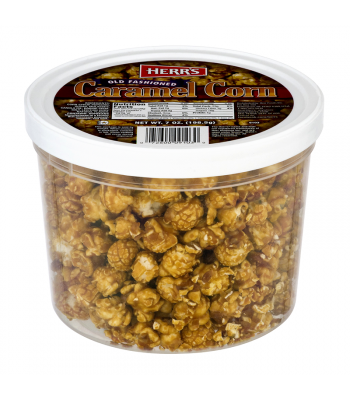 Herr's Old Fashioned Caramel Corn Tub - 7oz (198.5g) Food and Groceries Herr's
