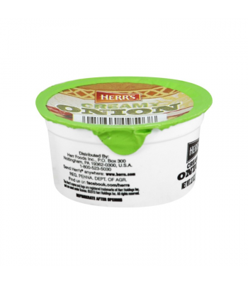 Herr's Creamy Onion Dip Cup - 3.7oz (105g) Snacks and Chips Herr's