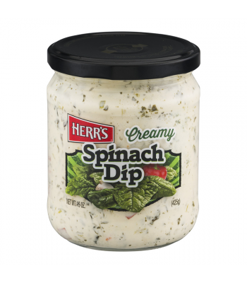 Herr's Creamy Spinach Dip - 15oz (425g) Snacks and Chips Herr's
