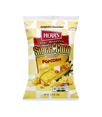 Clearance Special - Herr's Fire Roasted Sweet Corn Popcorn - 2.25oz (64g)  **Best Before:  May 21** Clearance Zone