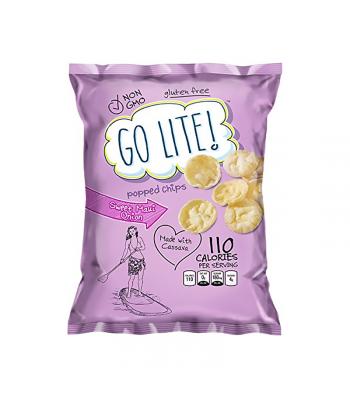 Herr's Go Lite! Non-GMO Sweet Maui Onion Popped Chips - 0.875oz (24.8g) Snacks and Chips Herr's