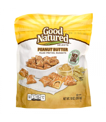 Herr's Good Natured Non-GMO Peanut Butter Pretzel Nuggets - 10oz (283.5g) Snacks and Chips Herr's