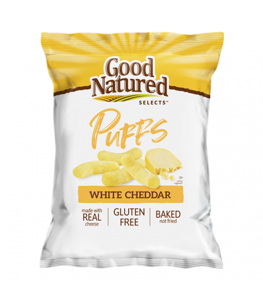 Herr's Good Natured Selects White Cheddar Puffs - 6.5oz (184.3g) Snacks and Chips Herr's