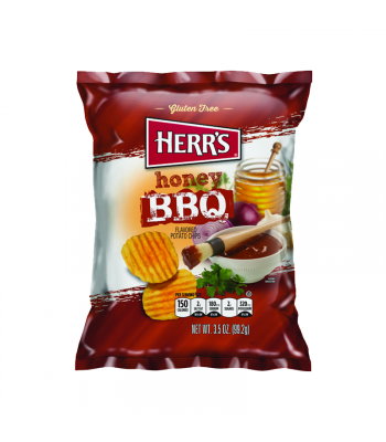 Herr's Chips Honey BBQ - 3.5oz (99.2g) Snacks and Chips Herr's