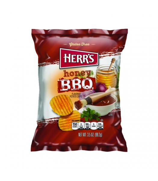 Herr's Chips Honey BBQ - 3.5oz (99.2g) Snacks and Chips Herr's