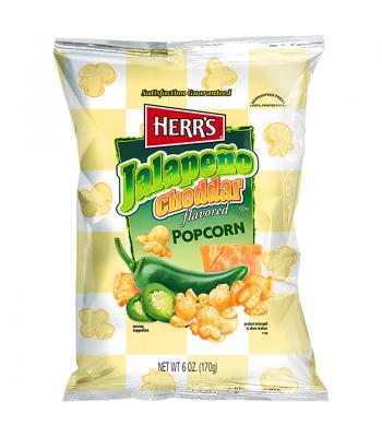 Herr's Jalapeno Cheddar Flavored Popcorn 6oz (170.1g) Popcorn Herr's