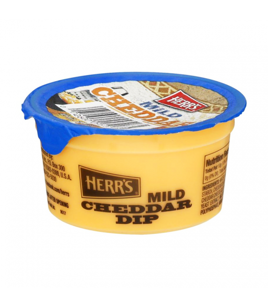 Herr's Mild Cheddar Dip Cup - 3.7oz (105g) Snacks and Chips Herr's