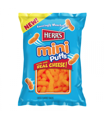 Clearance Special - Herr's Mini Cheese Puffs - 6oz (170g) **Best Before: 06 November 20** Clearance Zone