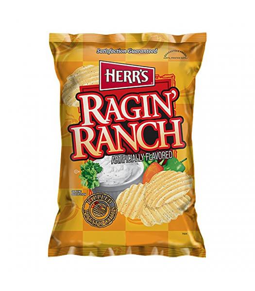 Herr's Potato Chips - Ragin' Ranch - 1oz (29g) Crisps & Chips Herr's