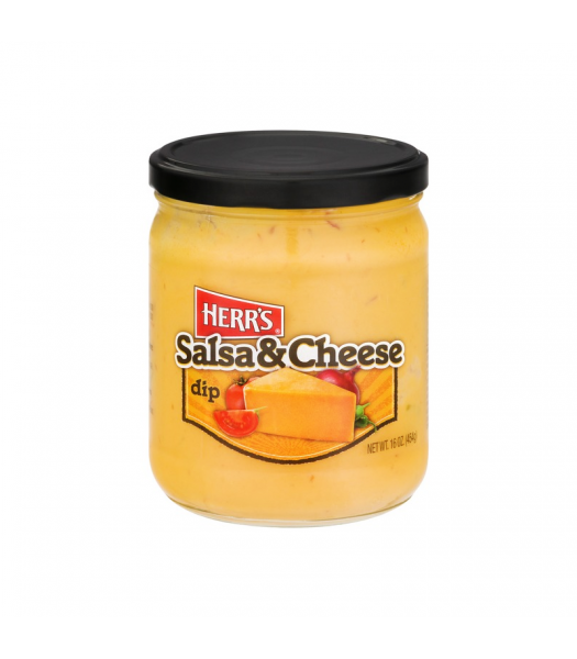 Herr's Salsa & Cheese Dip - 16oz (454g) Snacks and Chips Herr's