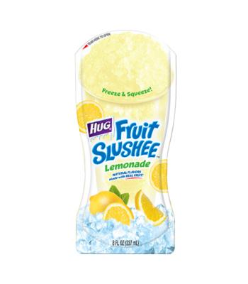 HUG Fruit Slushee Lemonade 8oz (237ml) Pouch Freezer Bars