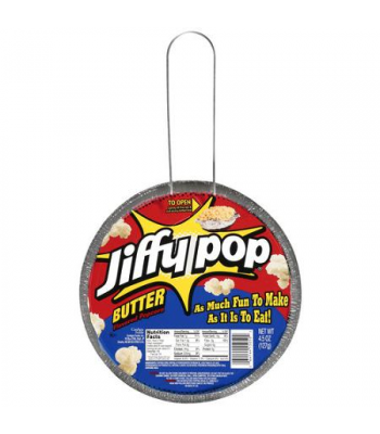 Clearance Special - Jiffy Pop Butter Popcorn 4.5oz (127g) ** Best Before: 10 May 2017 ** Clearance Zone