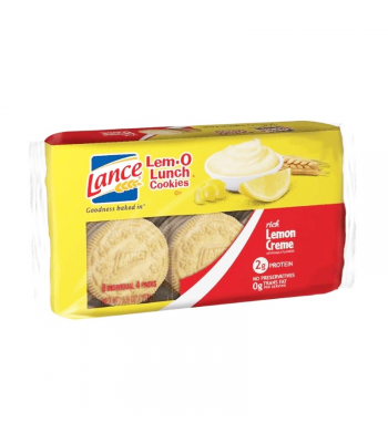 Lance Lem-O Lunch Cookies Lemon - 6.6oz (187g) Food and Groceries