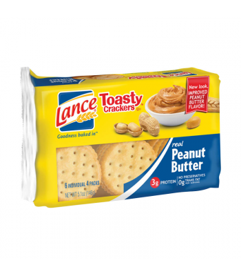 Lance Toasty Crackers Peanut Butter - 5.1oz (144g) Food and Groceries