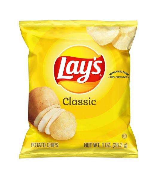 Lay's Classic Potato Chips 1oz (28.3g)