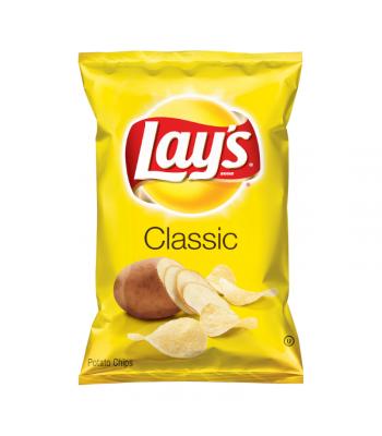 Lay's Potato Chips Regular - 6.5oz (184.2g) Snacks and Chips Frito-Lay