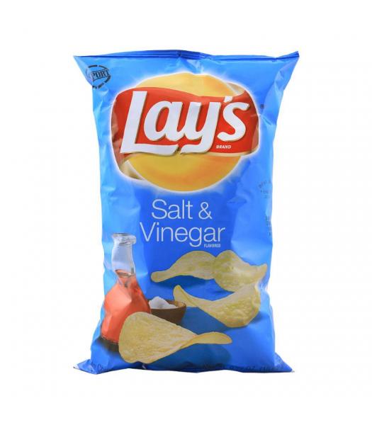 Lay's Potato Chips Salt & Vinegar - 6.5oz (184.2g) Snacks and Chips Frito-Lay