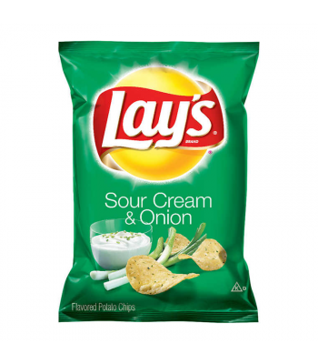 Lay's Sour Cream & Onion 1.5oz (42.5g) Snacks and Chips Frito-Lay