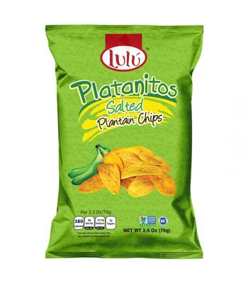Lulú Platanitos Salted Plantain Chips - 2.5oz (70g)