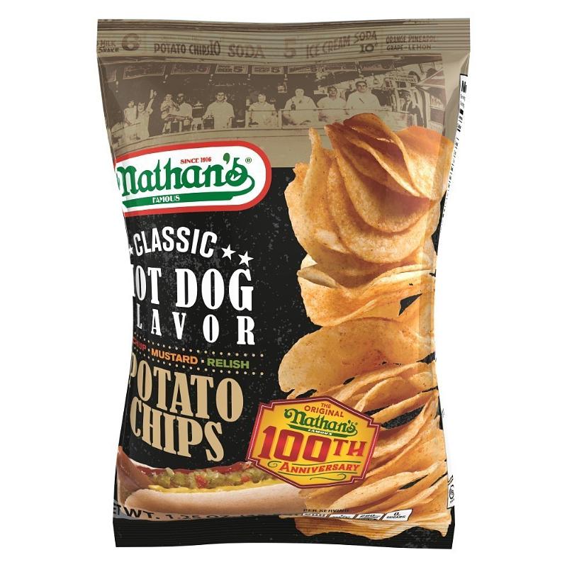Nathan S Famous Hot Dog Potato Chips