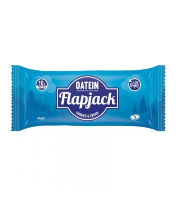 Oatein Cookies & Cream Flapjack - 40g Food and Groceries